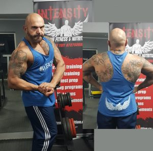 Intensity Men's Blue Razor Vest